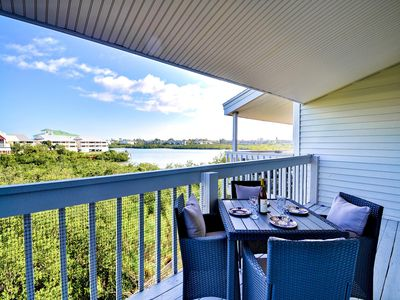 Come enjoy the view of the intercoastal from the balcony.