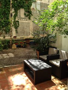 Photo for Apartment in PARIS CENTER.CHARMING FLAT WITH GARDEN AREA HEART OF NOTRE DAME PARIS SAINT-GERMAIN-PANTHEONResidential flat