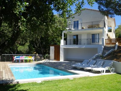 Photo for Villa with private pool in La Croix-Valmer, close to Saint-Tropez