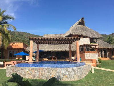 Photo for 5 Bedroom Luxury Villa - Private Beach, Pool, Chef, Ocean Views & Sunsets