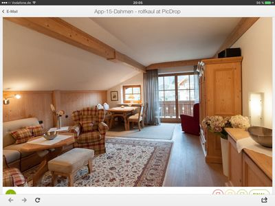 Photo for Apartment 2 - Apartment on the Rottach - Dahmen