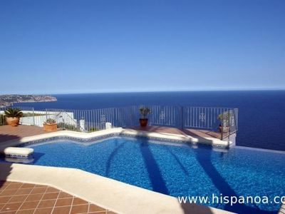 Photo for Villa ith private pool on the Cumbre del Sol Costa Blanca