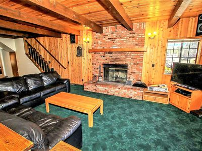 Photo for Country house 918 m from the center of Big Bear Lake with Parking, Internet, Washing machine (983712)