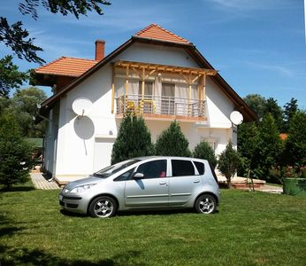 Photo for Holiday apartment with pool, Internet u.v.m. Lake Balaton