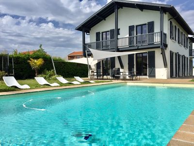 Photo for ANGLET BEAUTIFUL HOUSE WITH SWIMMING POOL NEAR BEACH AND 5 CANTONS