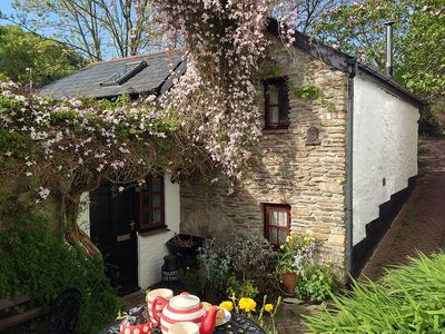 Photo for Cosy Cottage within Curtilage Of 16th Century Working Watermill. 300m from Hele