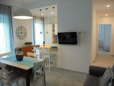 Photo for Light and Sea: elegant apartment on the sea below Taormina.