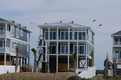 Oceanfront & Soundfront New Construction Home is Complete and Gorgeous!