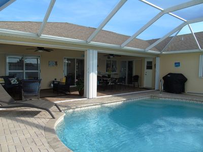 Photo for Gorgeous home with heated pool and fully fenced back yard!