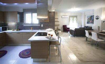 Photo for Elena & Pelagia Luxury, Brand Νew Apartment In Rethymno, Sea & Country side View