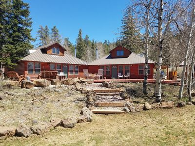Photo for Aspen View Cottage #1, 1 of 3 side by side cabins, sleep total of 30