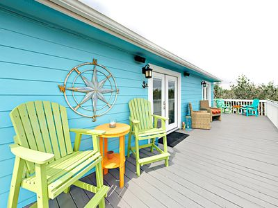 Photo for 2BR Coral Reef Cottage w/ Patio & Deck, Near Beach - Pool, BBQ & Playground