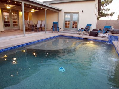 Photo for IMMACULATE HOUSE ❤ OLD TOWN SLEEPS 15 IN BEDS, HEATED* POOL