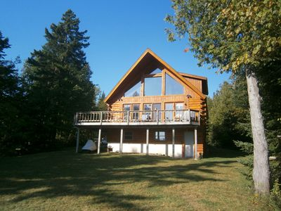 Photo for RANGELEY LAKE PRIVATE LAKE FRONT HOME