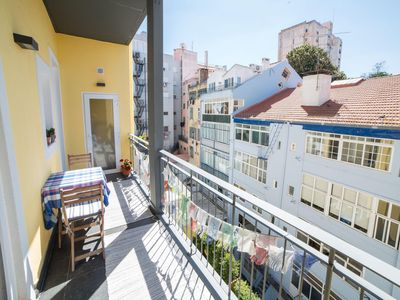 Photo for Anjos City View  apartment in Graça with WiFi & balcony.