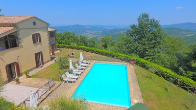 Photo for Villa Forconi: Completely private luxury villa with pool and free wifi.