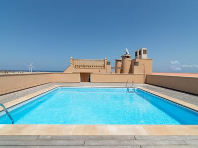 Photo for Bigia`s House: swimming pool and roof terrace