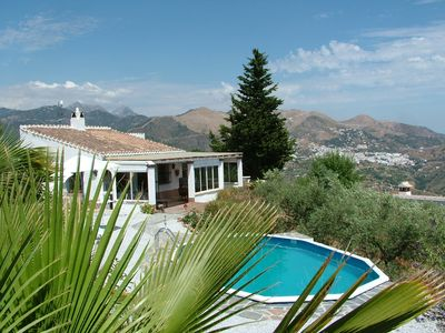 Photo for Finca Viña - Dreamhouse with private pool and fantastic mountain and sea view.