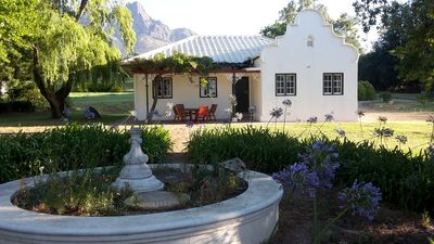 Photo for Historic Cottage on Wine Farm Estate
