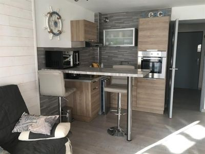 Photo for Apartment Fort-Mahon-Plage, studio flat, 2 persons