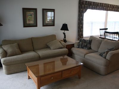 Photo for Beautiful condo in Sea Trail, 1st floor end unit with lockout