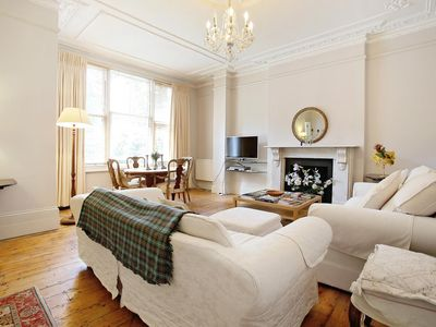 Photo for Classic, Beautiful Apartment with Garden in Kensington (W14) STAN