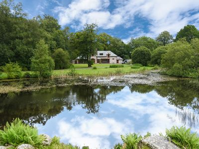 Photo for Recently refurbished home overlooking private lochan