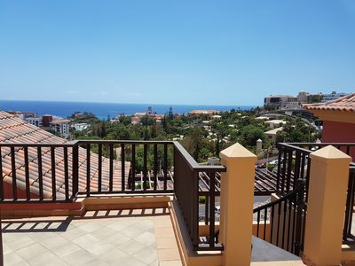 Photo for Terrazas del Duque, roof terrace, sea view, only 200m to the beach,heated pool,Wifi