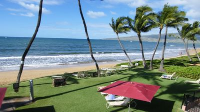 Photo for Maui Beachfront with 2 bathrooms!FREE NIGHT!