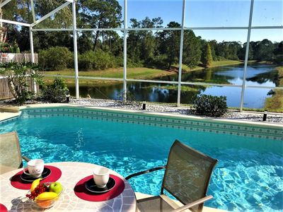 Photo for Wonderful home 7 min from Disney with lake view