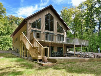 Photo for 5 Bedroom Vacation Home on Lake Namakagon