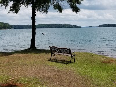 Photo for A Perfect Waterfront Villa on Lake Hartwell. Come relax, have fun, get away!