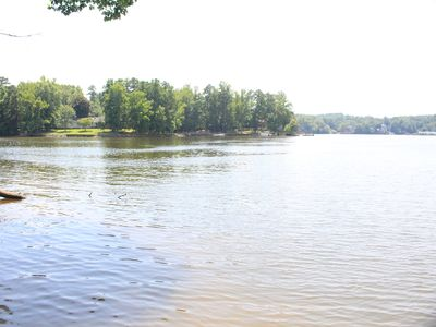 Photo for High Rock Lake Vacation Home.Great Peaceful Lakefront Views, Come enjoy the Lake