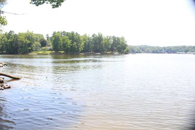 Lake view from dock