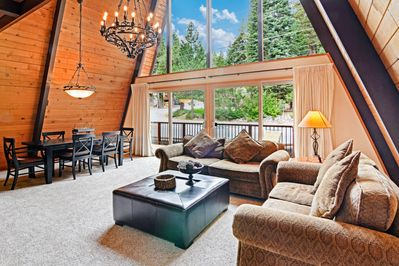Living Room - Welcome to Tahoe City! Your rental is professionally managed by TurnKey Vacation Rentals.