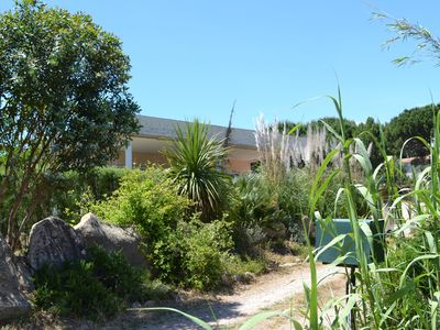 Photo for VILLA 200 meters FROM THE BEACH: A GITE VERY SPACIOUS GARDEN SEA VIEW 2/4 VACANCY