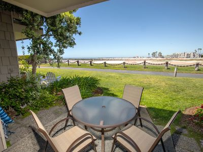 Photo for Panoramic Ocean & Harbor View Cottage-Grassy Walk-out Patio