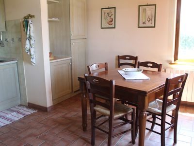"""Photo for """"Il Ciliegio"""" apartment in a cottage in the green of the Tuscan countryside"""
