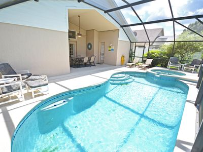 Photo for Fantastic 5 bed pool home just minutes to attractions