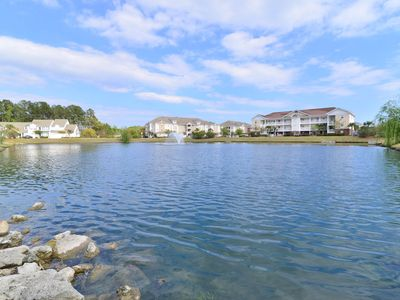 Photo for LAKEFRONT & POOL VIEW! 1 Mile to Beach! 2 POOLS * WI-FI * TOP LOCATION!