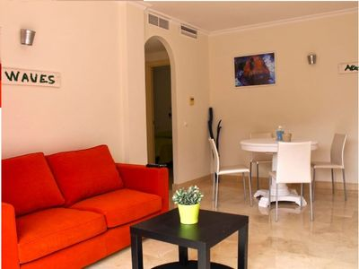 Photo for Benalmadena 2 bedroom apartment with terrace