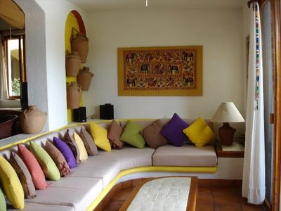 Photo for Zihuatanejo , La Ropa Luxury  condo ,spectacular  bay view and private beach