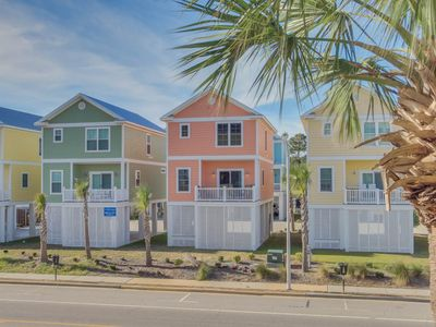 Photo for Beautiful new 4 bedroom 3.5 bath raised beach house - steps to the ocean