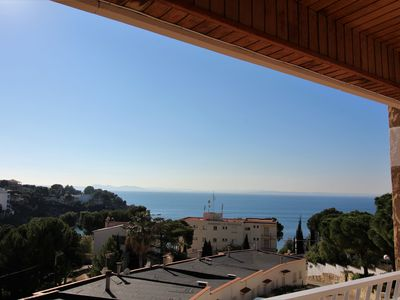 Photo for Apartment well located in the cove of ALMADRABA, 2 steps from the beach, with parking com