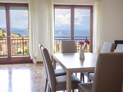 Photo for Three-room Panoramica with seaview balcony in Rio Marina