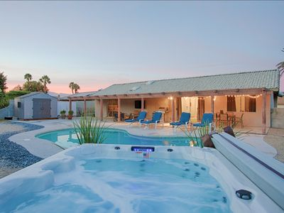 Photo for The Oasis - The Ultimate Palm Springs Getaway – 3BD/2BA/Pool/Spa/Tennis/Fire-pit