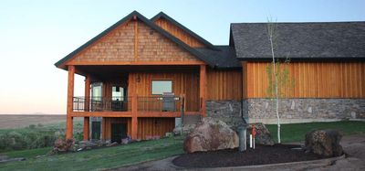 Wildfin Lodge side view