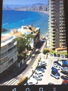 Photo for Luxurious apartment with marvellous sea view to Benidorm bay