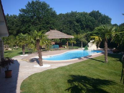 Photo for House T6 with pool and large park quiet, 20 'from the center of Toulouse