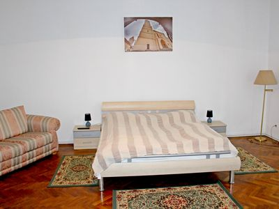 Photo for Very spacious apartment in the old city center of Medias